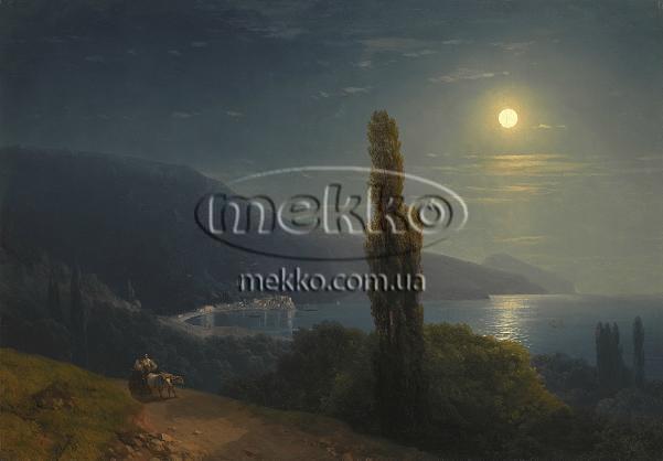 Картина Кримське узбережжя в місячному світлі, І.К. Айвазовський  Івано-Франківськ