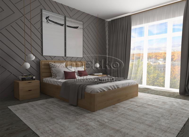 Ліжко Лауро з Підйомником (масив бука /масив дуба) T.Q.Project  Івано-Франківськ