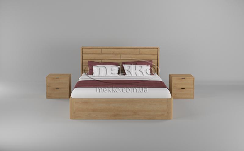 Ліжко Лауро з Підйомником (масив бука /масив дуба) T.Q.Project  Івано-Франківськ-4