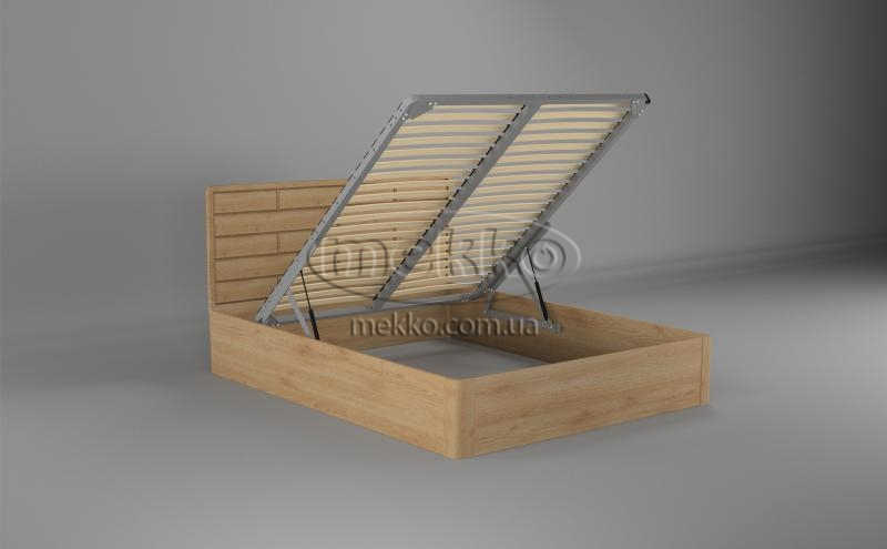 Ліжко Лауро з Підйомником (масив бука /масив дуба) T.Q.Project  Івано-Франківськ-2